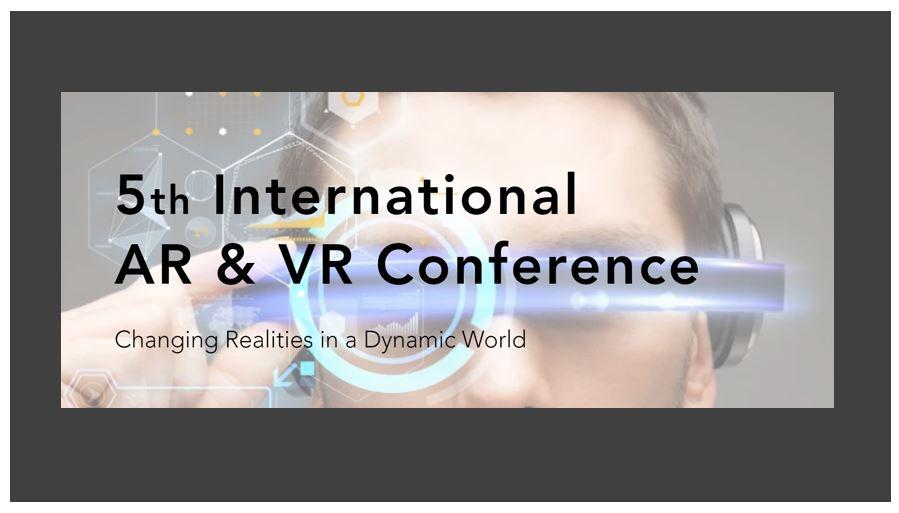 5th International AR & VR Conference