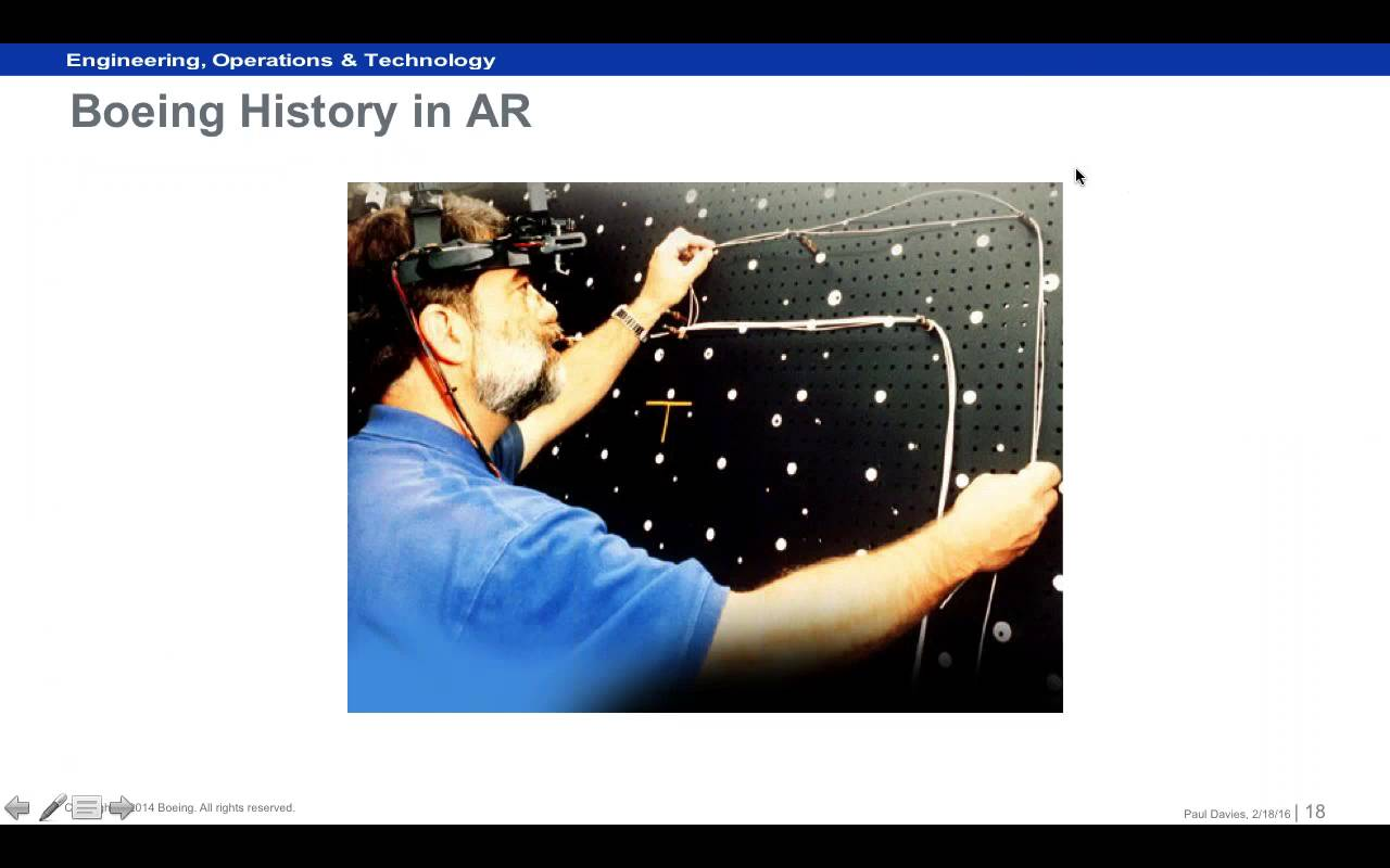AREA Webinar |Augmented Reality in the Aerospace Industry