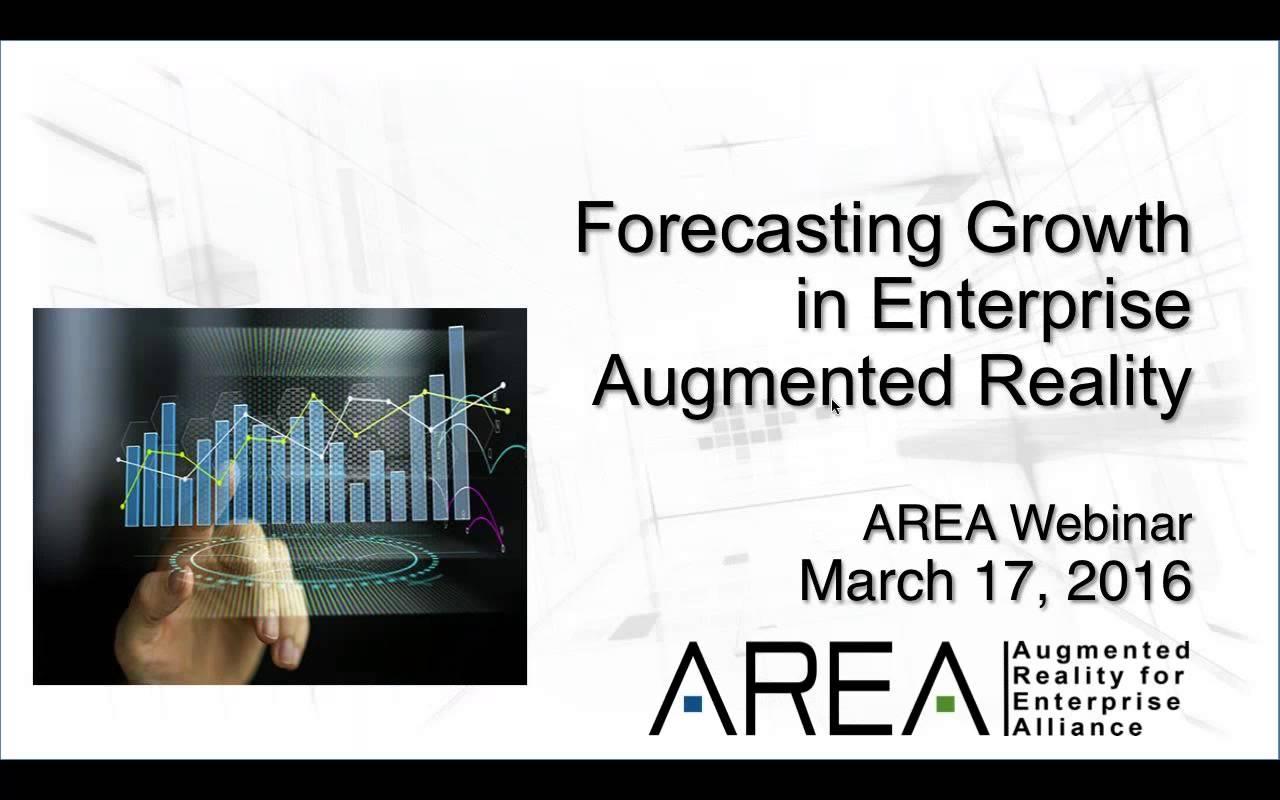 AREA Webinar   Forecasting Enterprise AR Growth