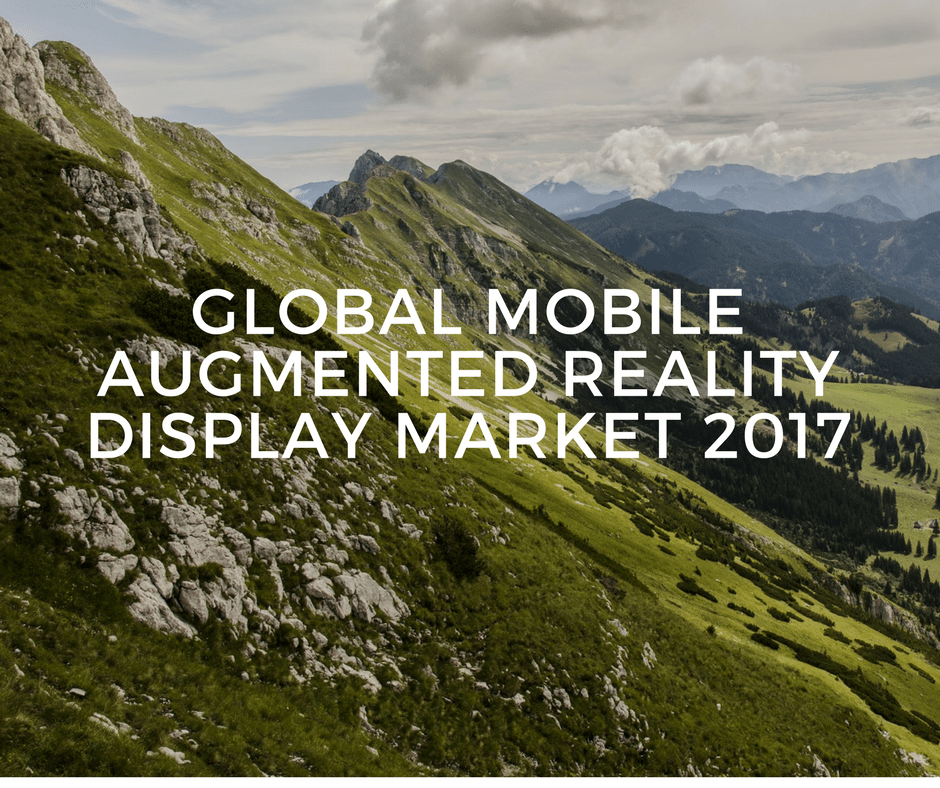 mobile augmented reality ar market Research abstract this report analyzes the worldwide markets for mobile augmented reality (mar) in us$ million the global market is further analyzed by the following applications.