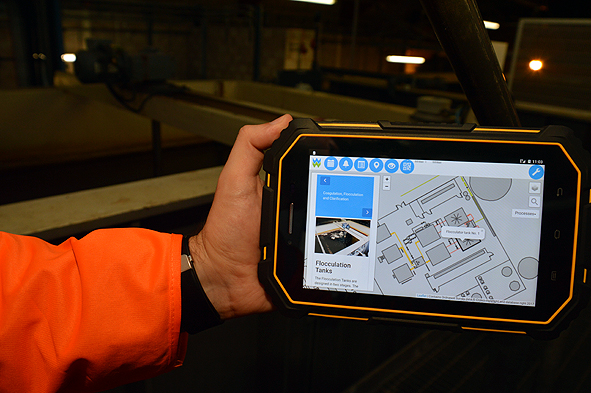 Leading Water Utility in Wales Turns to AR to Reduce Errors