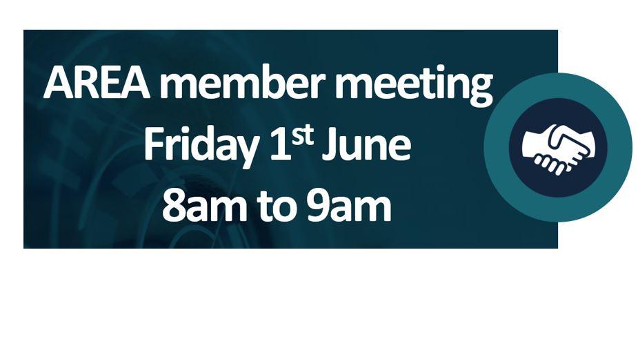 Exclusive AREA Members meeting at AWE