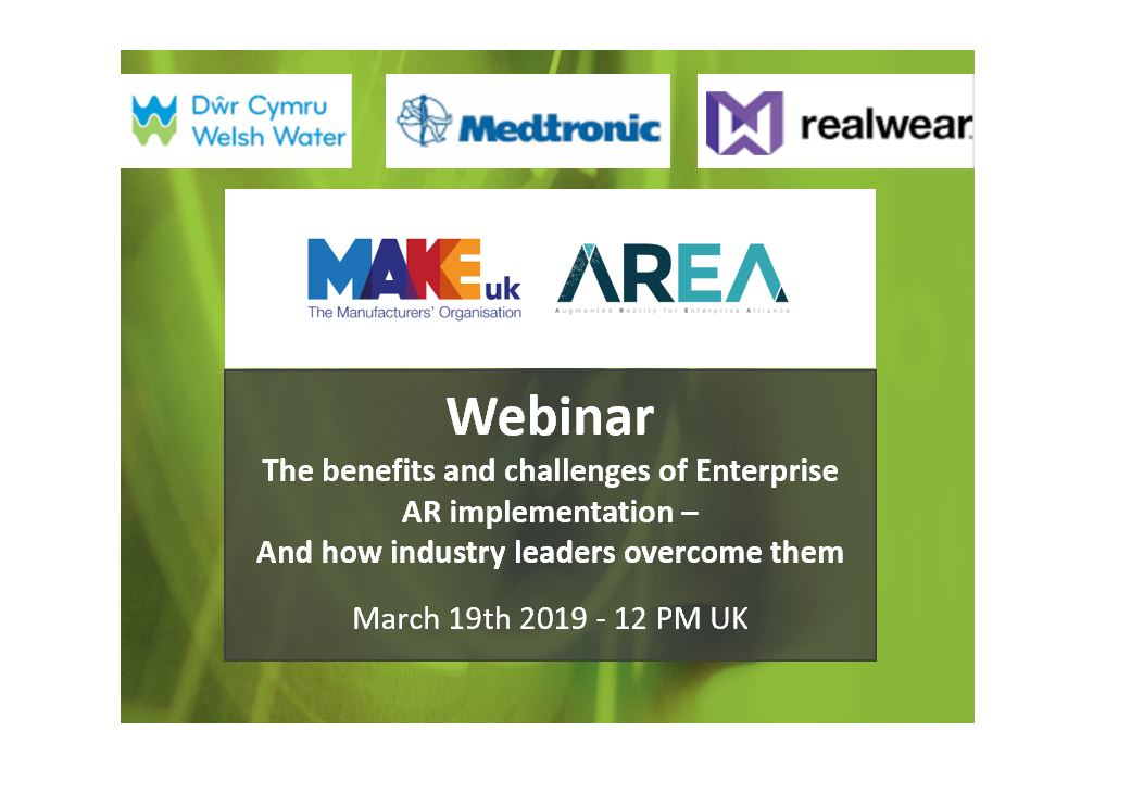 MAKEuk and the AREA Webinar