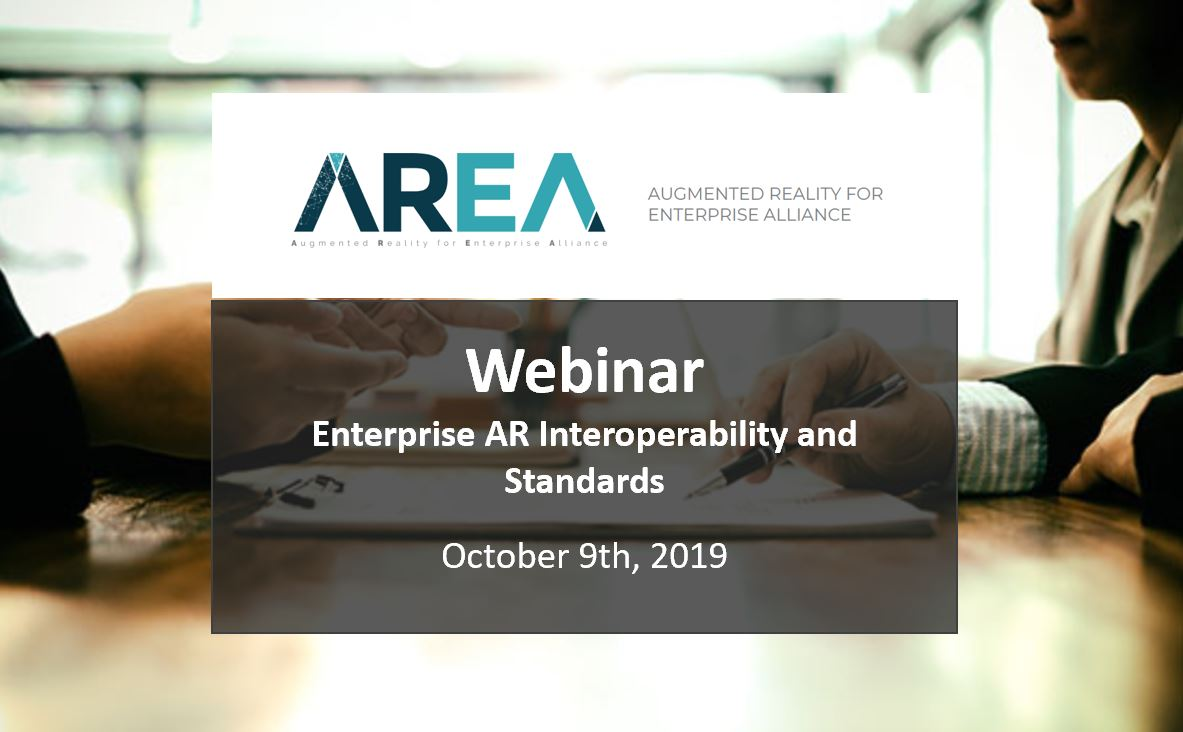 Enterprise AR Interoperability and Standards