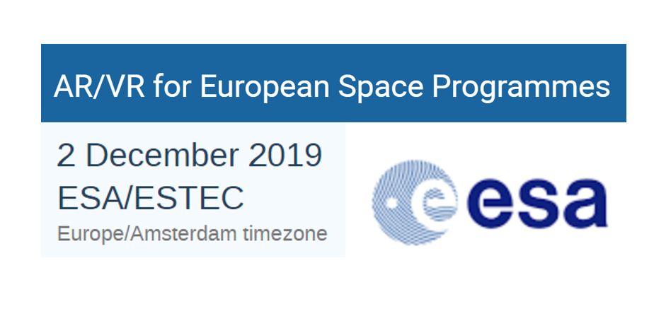 AR/VR For European Space Programmes