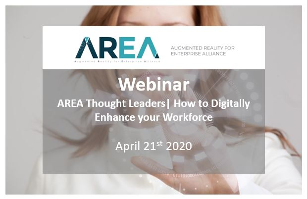 AREA Thought Leaders Webinar | How to Digitally Enhance your Workforce