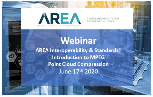 AREA Interoperability & Standards Webinar | Introduction to MPEG Point Cloud Compression
