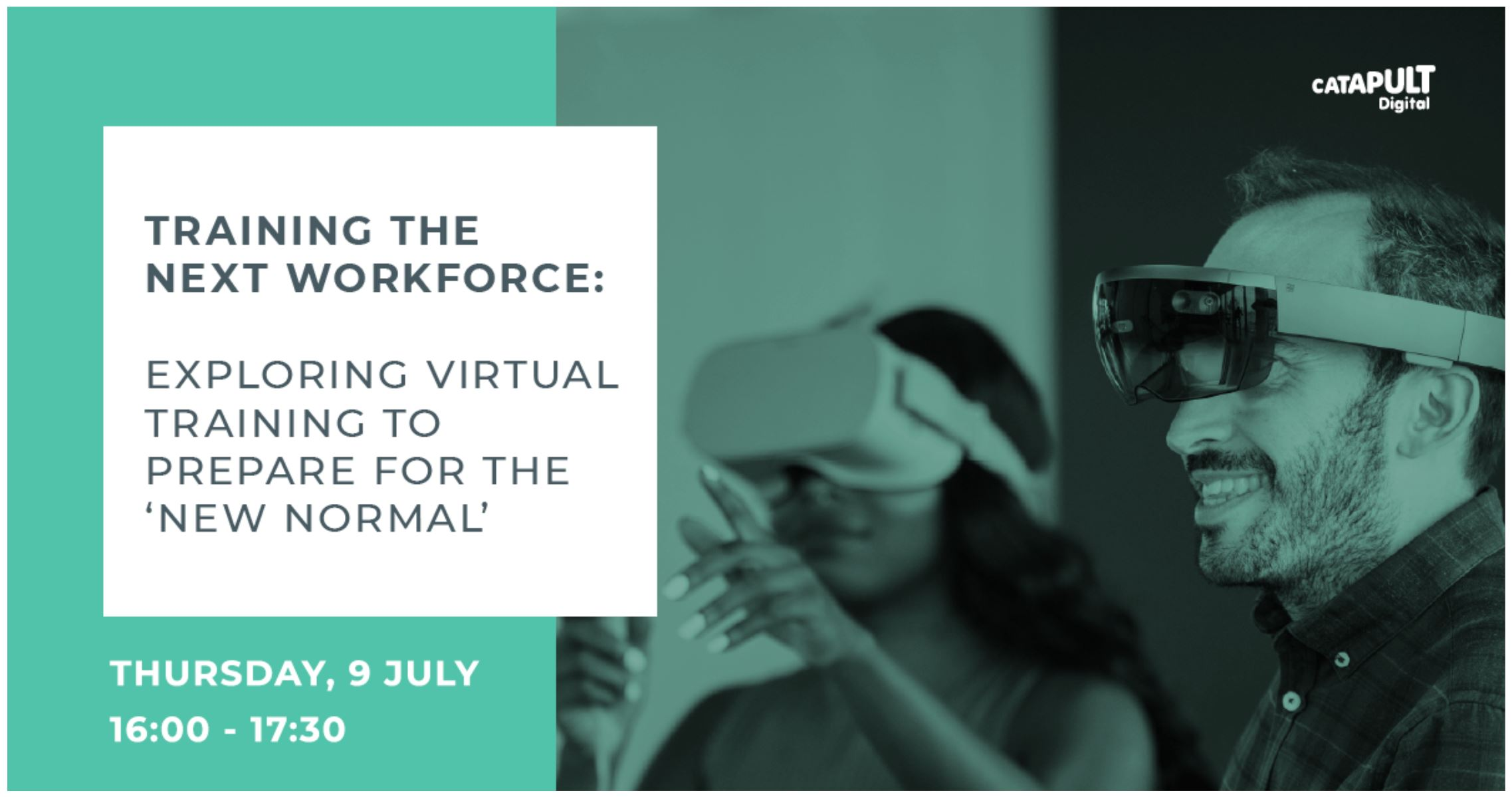 Training the next workforce: exploring virtual training to prepare for the 'new normal'