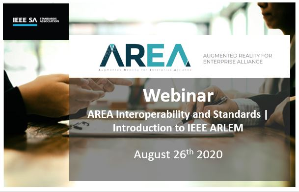 AREA Interoperability and Standards Webinar | Introduction to IEEE ARLEM