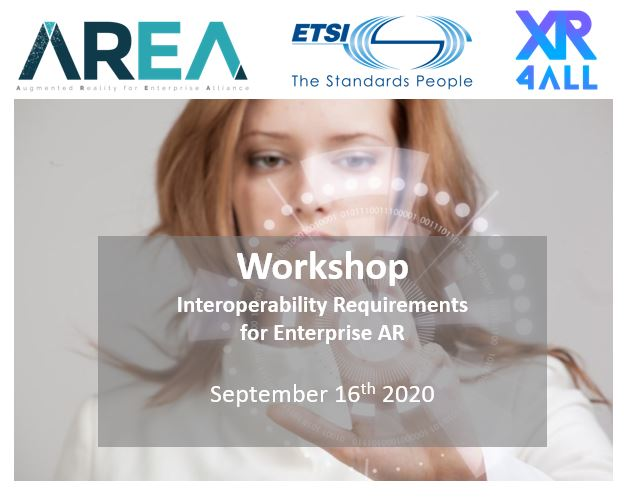Interoperability Requirements for Enterprise AR Workshop