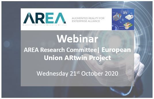AREA Research Committee Webinar | European Union ARtwin Project