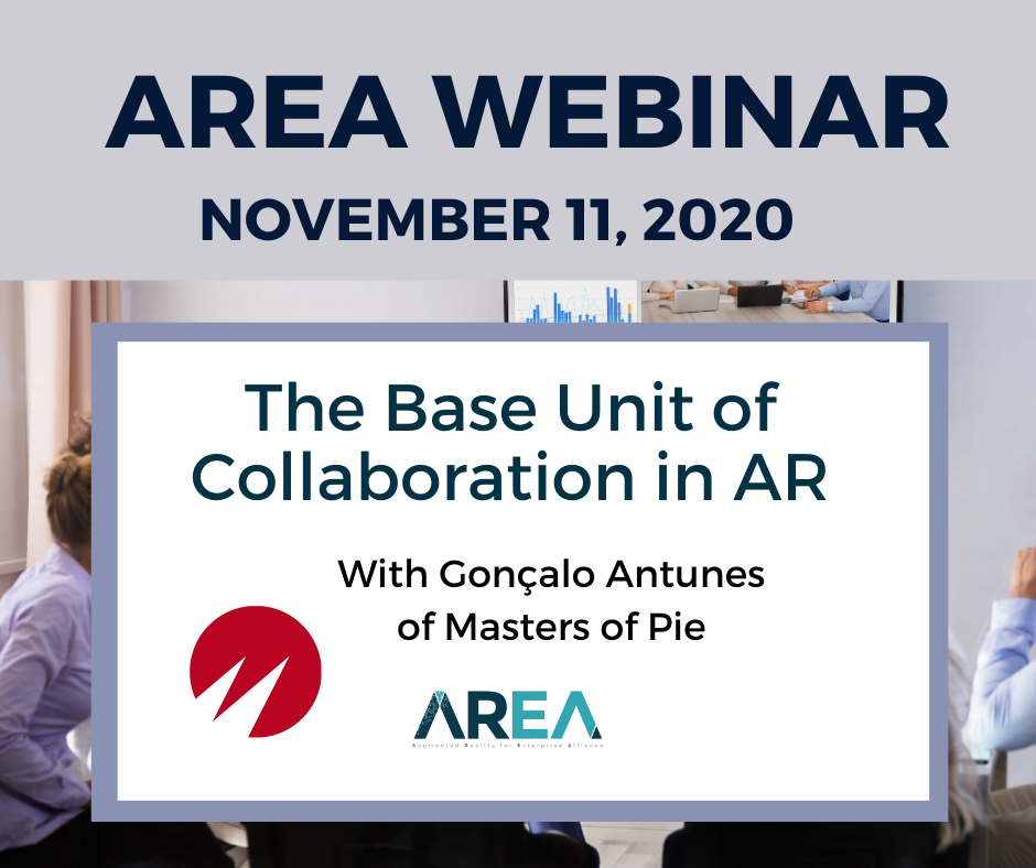 AREA Thought Leaders Network | Masters of Pie – The Base Unit of Collaboration in AR