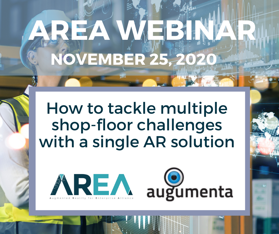 AREA Thought Leaders Network | How to tackle multiple shop-floor challenges with a single AR solution