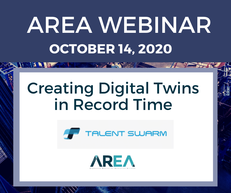 AREA Thought Leaders Network Webinar – Creating Digital Twins in Record Time
